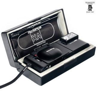 Olympus Olympus XA W/ A16 Flash, Box And Manual