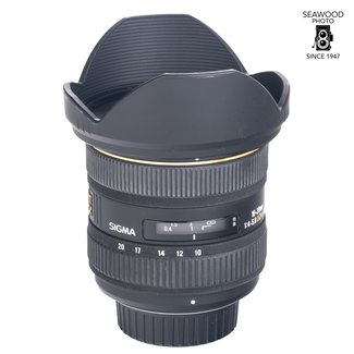 Sigma Sigma 10-20mm f/4-5.6 DC For Nikon