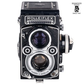 Rollei Rolleiflex 3.5F with Zeiss Planar
