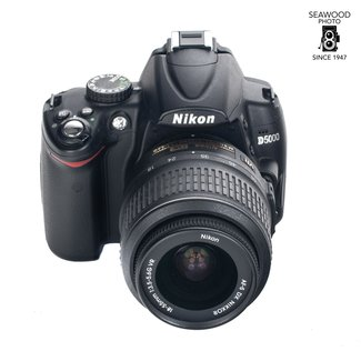 Nikon Used Nikon D5000 With 18-55mm Lens 12.3mp