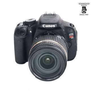 Canon Used Canon T3i With Tamron 18-270mm Lens