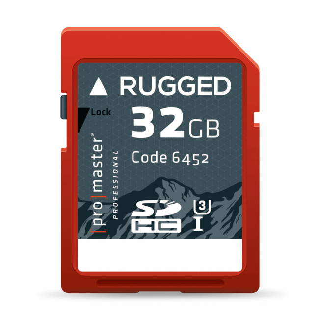 Promaster Promaster Rugged UHS-1 32GB SD Card
