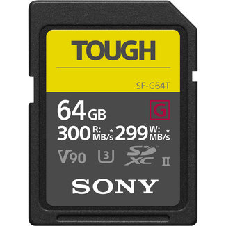 Sony Sony Tough 64GB SDX UHS-II SD Card