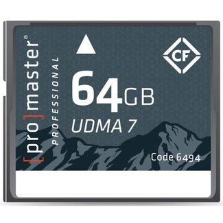 Promaster Promaster Rugged 64GB UDMA7 CF Card