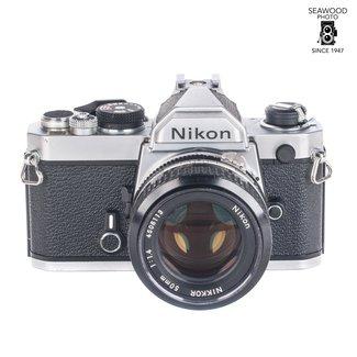 Nikon FM With 50mm f/1.4