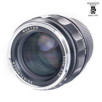 Voigtländer Used Voigtlander Nokton 50mm f1.2 Aspherical Leica M-Mount