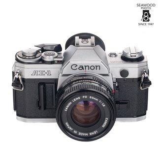 Canon Canon AE-1 W/ 50mm F/1.8