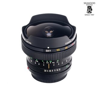 Canon Canon FD 15mm F/2.8 Fish-Eye