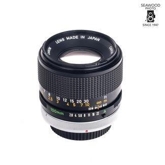 Canon Canon FD 100mm f/2.8 S.S.C