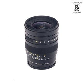 Tokina Tokina Firin 20mm F/2 Lens For Sony E Mount
