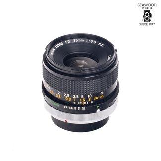 Canon Canon FD 35mm f/3.5 S.C.