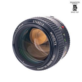 Minolta Minolta 58mm f/1.2