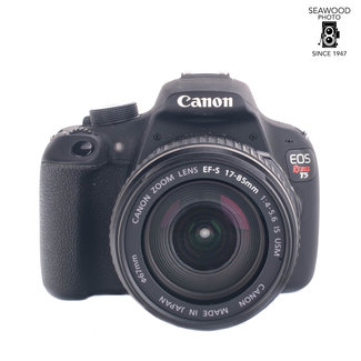 Canon Canon Rebel T5 18.0mp With EFS 17-85mm