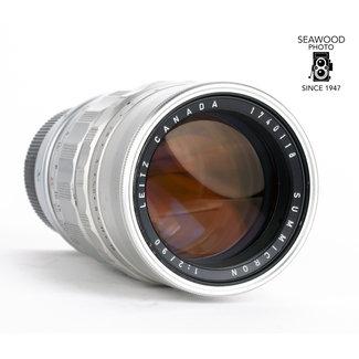 Leica Leica 90mm f/2 Summicron-M Chrome GOOD