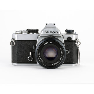 Nikon Nikon FM w/50mm f/1.8E GOOD