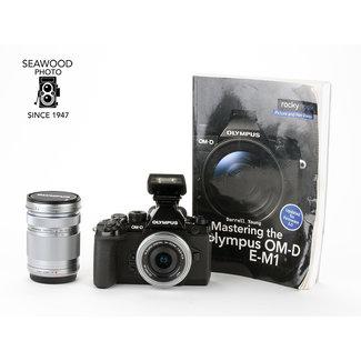 Olympus Olympus OM-D E-M1 16.3mp w/14-42mm, 40-150mm GOOD