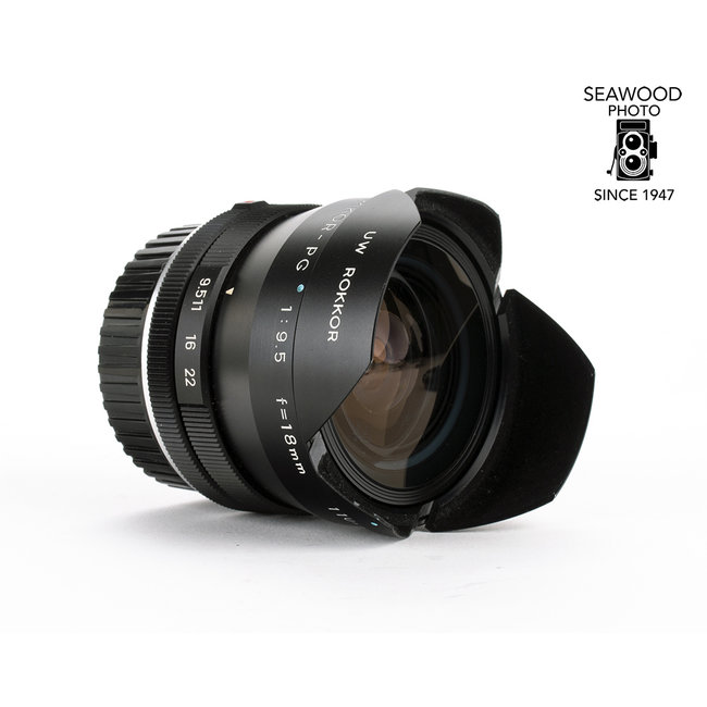 Minolta Minolta UW Rokkor PG 18mm f/9.5 GOOD
