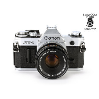 Canon Canon AT-1 w/50mm f/1.8 S.C. GOOD+