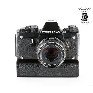 Pentax Pentax LX w/50mm f/1.8 SMC, FREE Motor Winder GOOD