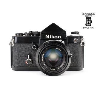 Nikon Nikon F2 Black w/DE-1 Non-Meter Head, 50mm f/1.4 Non-AI GOOD+