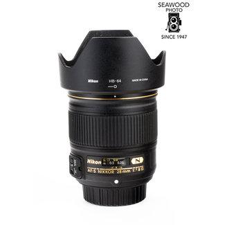 Nikon Nikon 28mm f/1.8G AF-S GOOD