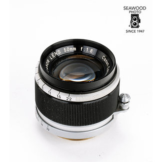 Canon Canon 50mm f/1.8 L39 Thread Mount Lens EXCELLENT