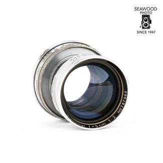 Leica Leica 50mm f/2 Collapsible Summitar M39 GOOD