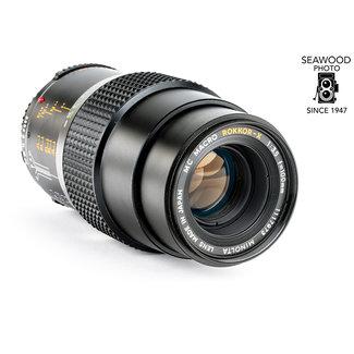 Minolta Minolta 100mm f/3.4 Macro Rokkor-X EX.