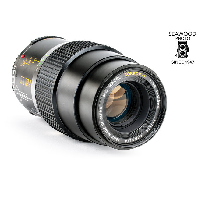 Minolta Minolta 100mm f/3.5 Macro Rokkor-X EX.