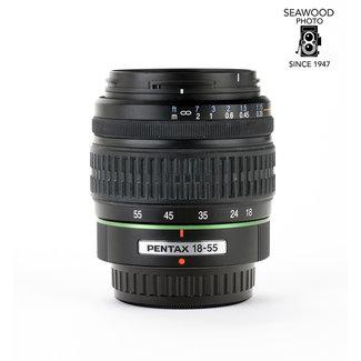 Pentax Pentax DA 18-55mm f/3.5-5.6 AF EXCELLENT