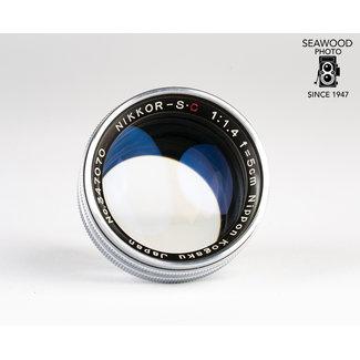 Nikon Nikon Nikkor-S C 5cm (50mm) f/1.4 for Nikon S EXCELLENT