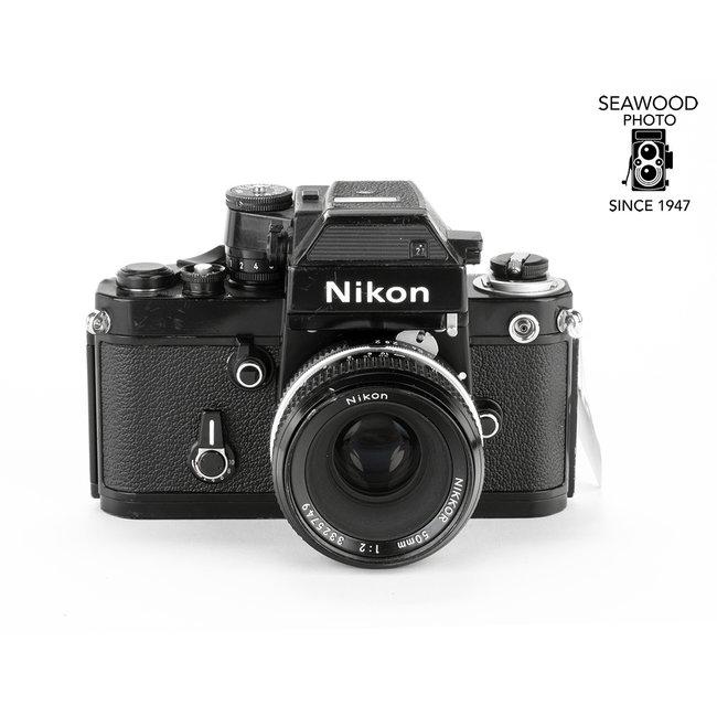 Nikon Nikon F2 Photomic SB w/DP-3 Finder, 50mm f/2 GOOD