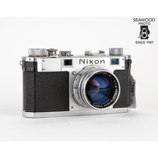 Nikon Nikon S w/ 50mm 1.4 Finder Case Extras GOOD+