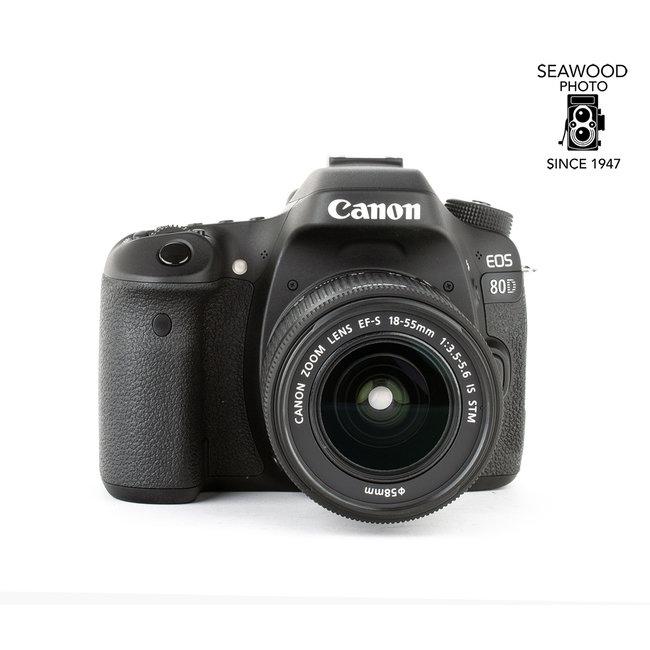 Canon Canon 80D 24.2mp w/18-55mm EXCELLENT