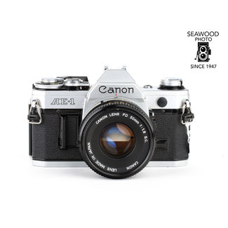 Canon Canon AE-1 w/50mm 1.8 Excellent