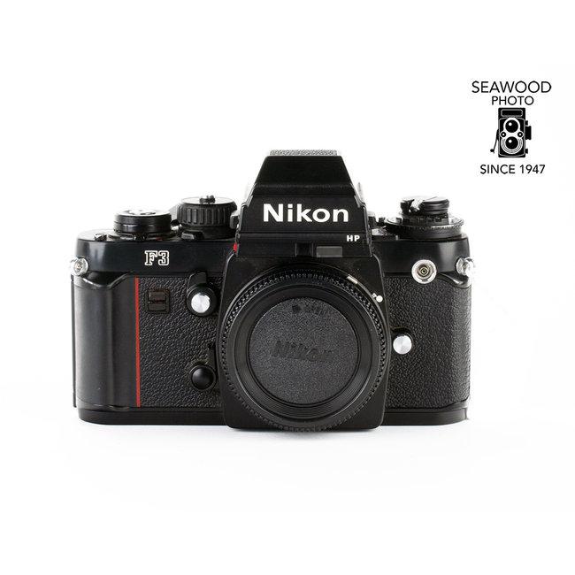 Nikon Nikon F3 HP w/FREE MD-4 Drive EXCELLENT