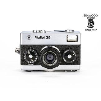 Rollei Rollei 35 w/Zeiss 40mm f/3.5 Tessar Germany GOOD+