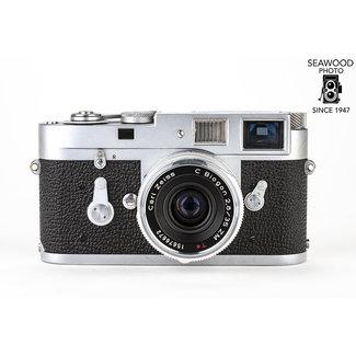 Leica eica M2 Rangefinder Camera w/NEW Zeiss ZM 35mm f/2.8 GOOD+