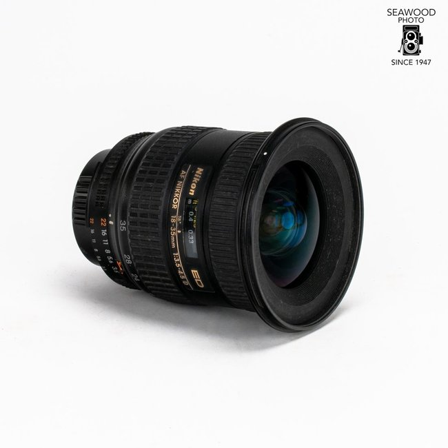 Nikon Nikon 18-35mm AF f/3.5-5.6 D GOOD