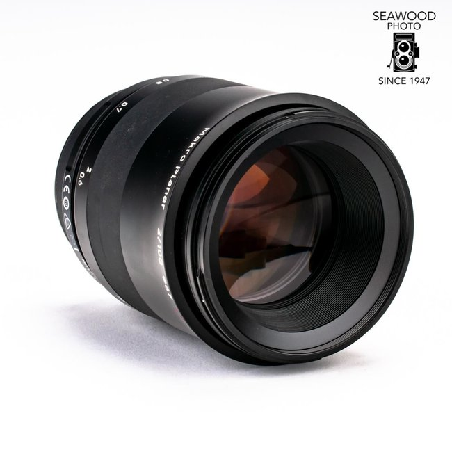 Zeiss Zeiss Milvus 100mm f/2 Macro ZF.2 for Nikon-F (reg. $1843) NEW