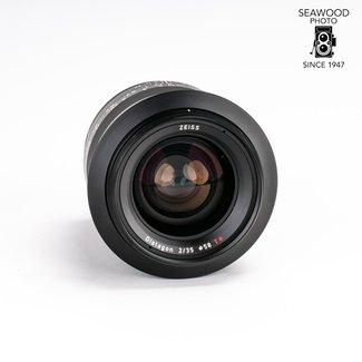 Zeiss Zeiss Milvus 35mm f/2 ZF.2 for Nikon F (reg. $1117) NEW