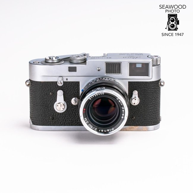 Leica Leica M2 with NEW Zeiss 50mm f/2 Planar ZM Lens GOOD+