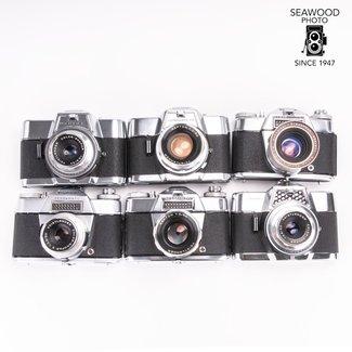 Voigtlander Voigtländer Bessamatic and Ultramatic 35mm SLRs Collection AS-IS