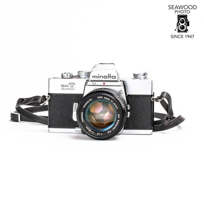 Minolta SRT Super w/ 50mm f/1.4 GOOD+