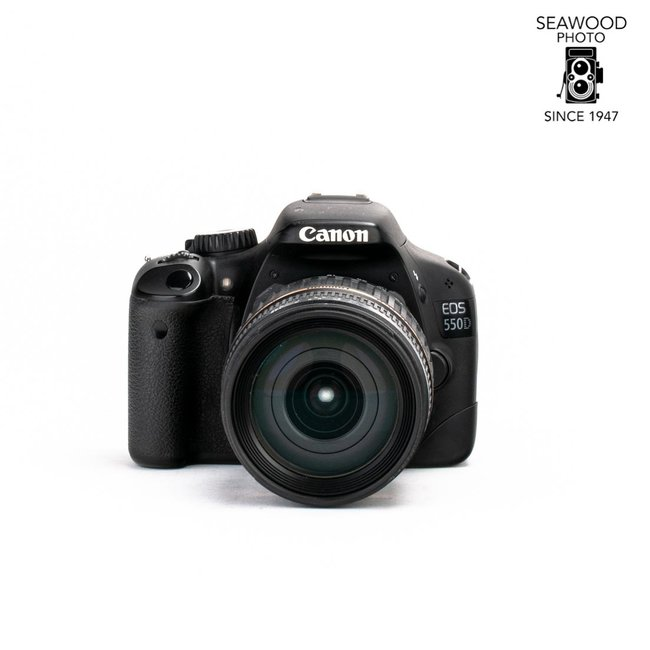 Canon Canon 550D/T2i 18mp w/ Tamron 18-200 GOOD+