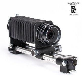 Pentax Pentax Bellows II w/100mm f/4  Bellows-Takumar Lens, Film Holder EXCELLENT