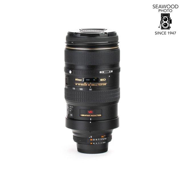 Nikon Nikon 80-400mm f/4.5-5.6D AF VR EXCELLENT
