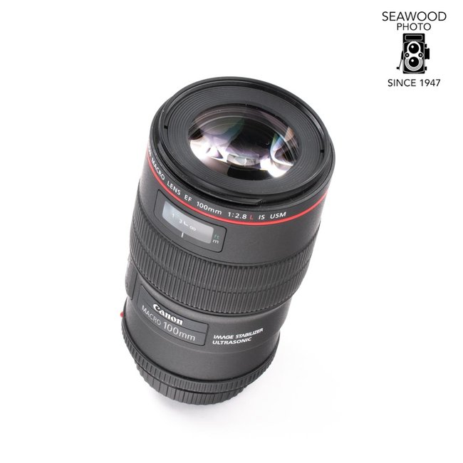 Canon Canon EF 100mm f/2.8L Macro IS USM LIKE NEW