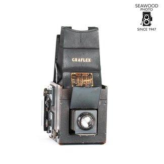Graflex GRAFLEX RB SERIES B 3 1/4 X 4 1/4  w/6x9 Roll Film Back and Voigtlander 13.5cm f4.5 GOOD