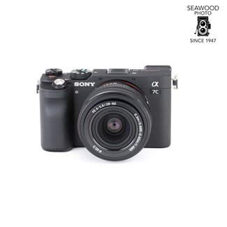 Sony SONY A7C 24MP w/FE 28-60mm F4-5.6